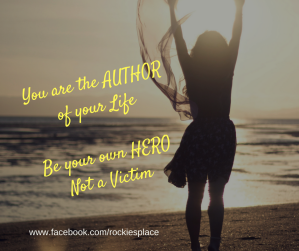 Youre the Author of your Life Be your own Hero_rockiesplace
